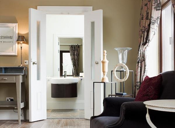 Replacing internal doors with fire doors