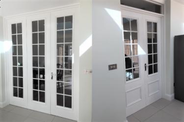 Double Doors & bi-folding doors