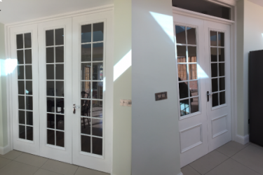 Choosing bespoke Glass doors