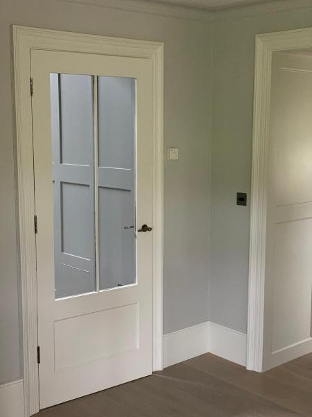 Scandanavian-style bespoke doors