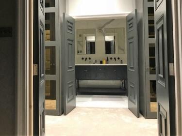 3 Panel bespoke double doors