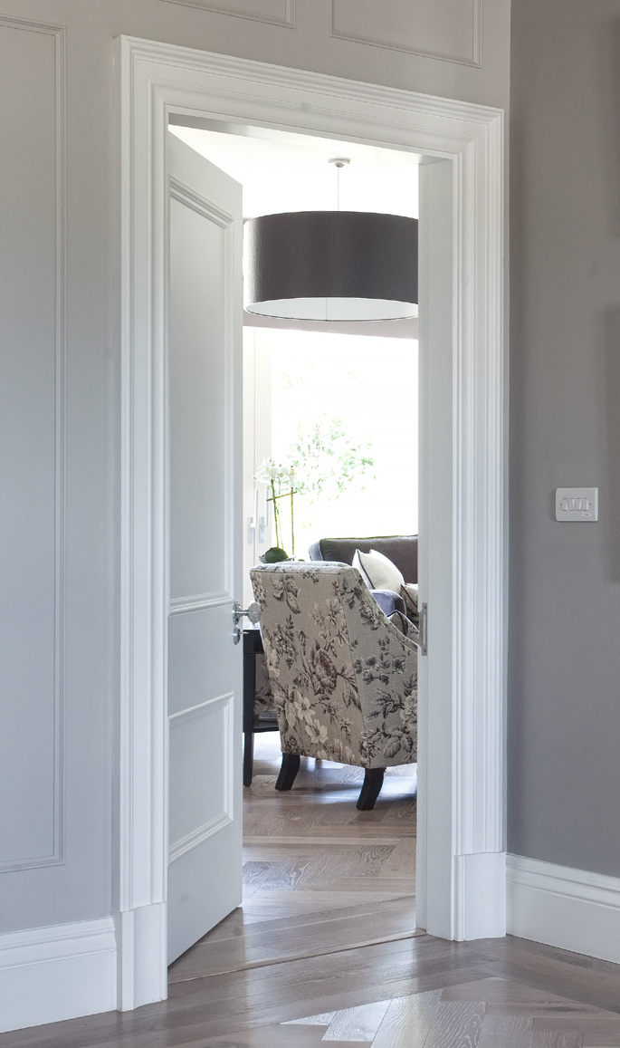 White internal doors that don't need painting