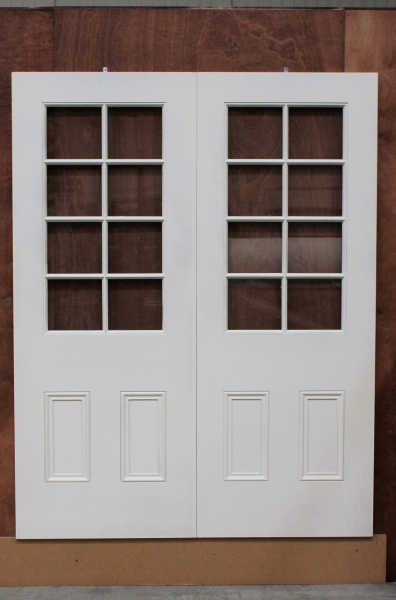 Double Door with glass
