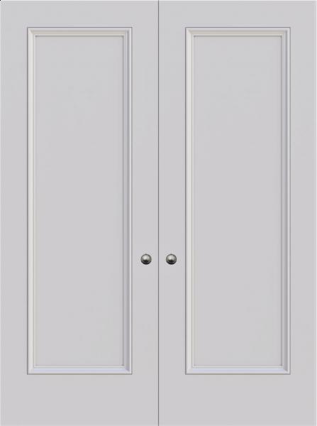 Knightsbridge Single Panel Double Fire Door
