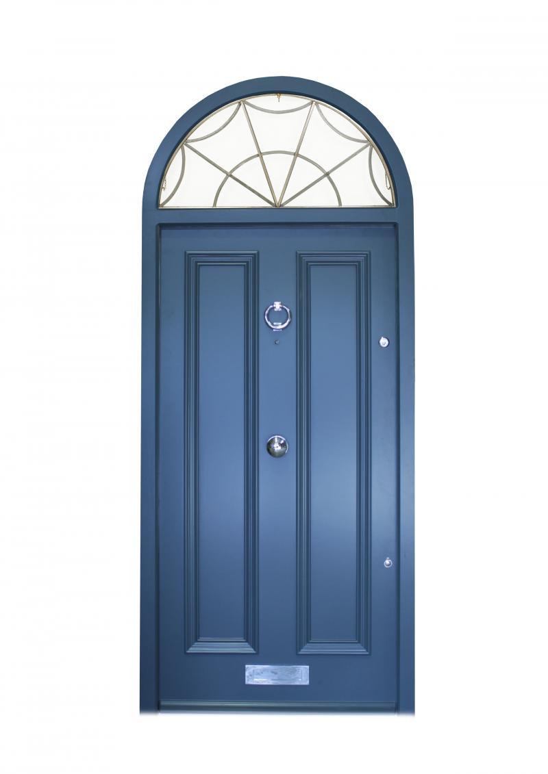 Victorian style external door
