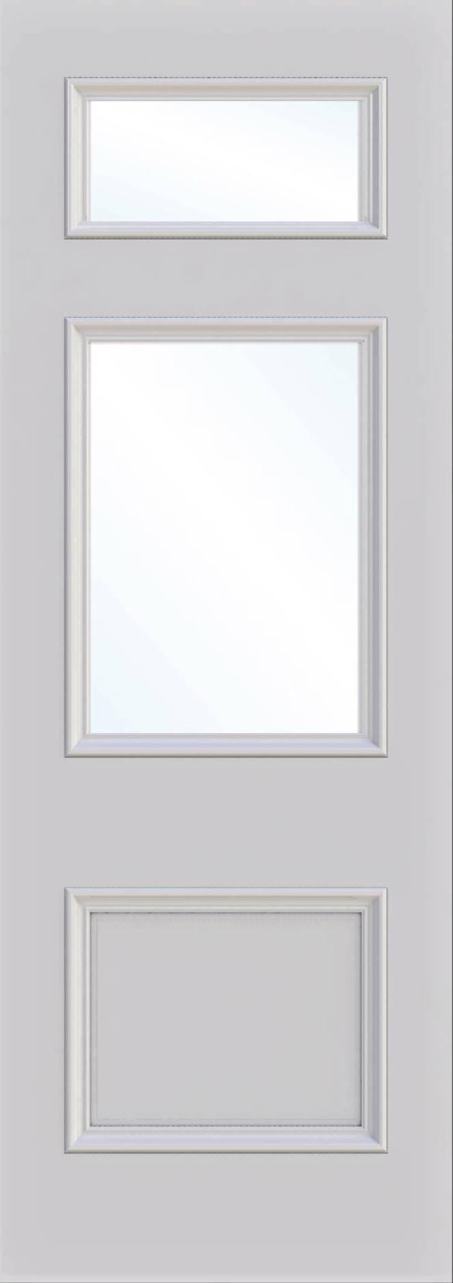 Croydon Single Glass Fire Door