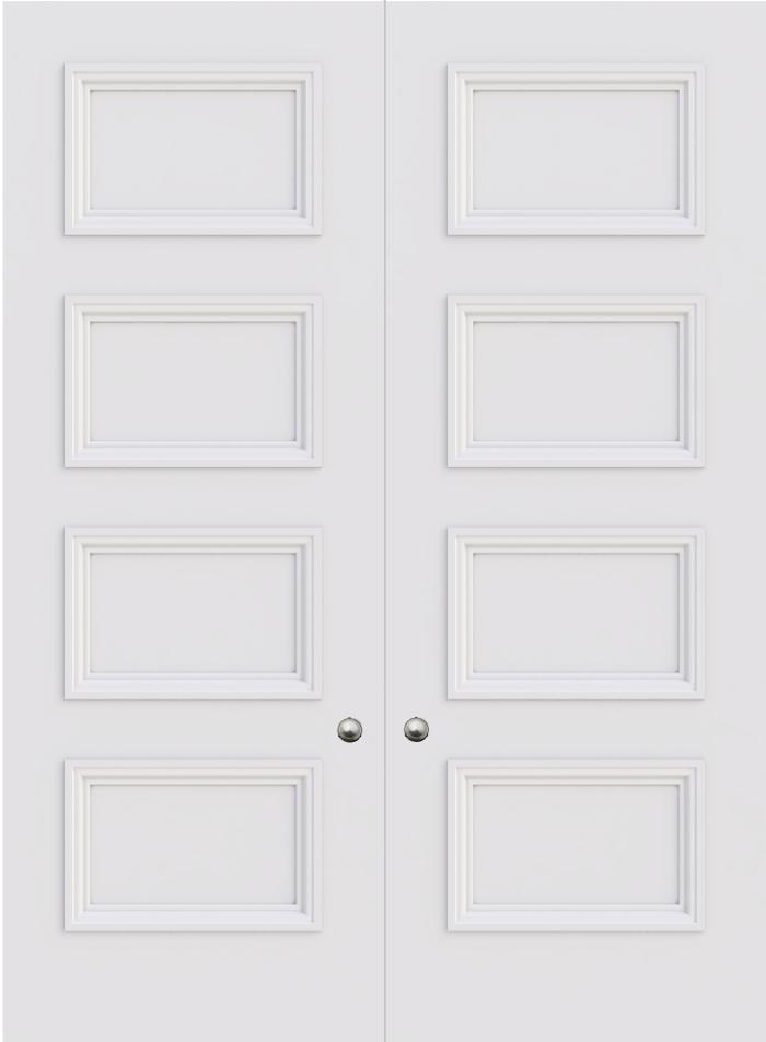 Balmoral 4 Panel Double Door