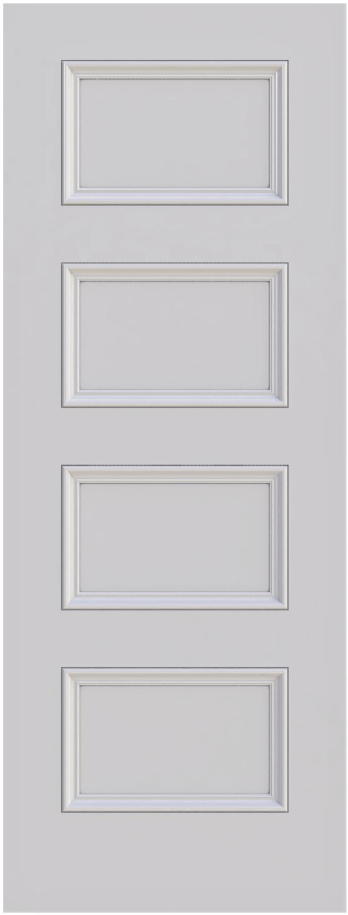 Knightsbridge 4 panel interior door from Trunk Doors, Bespoke custom doors at www.mad