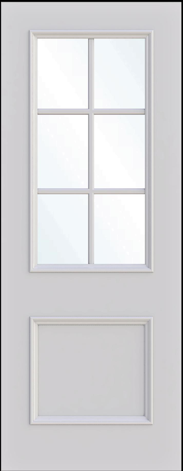 Manchester Single Glass Fire Door