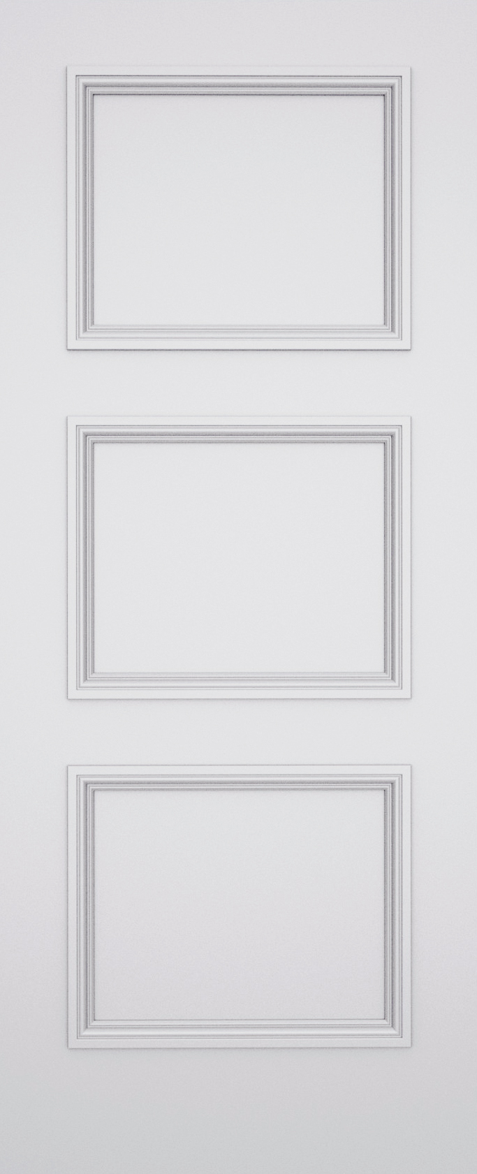 Trinity Balmoral 3 Panel Door