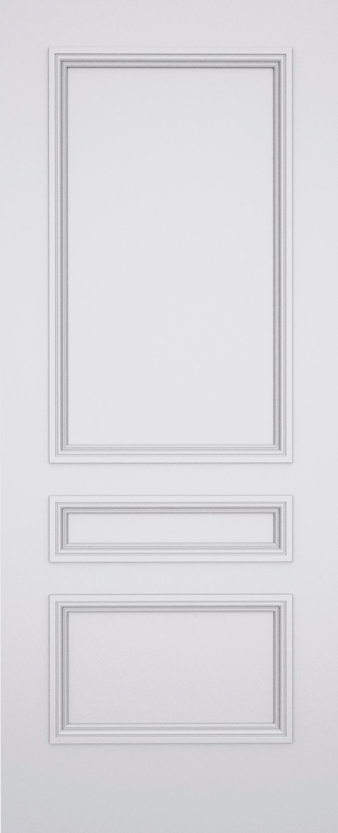 Kesh Balmoral 3 Panel Door