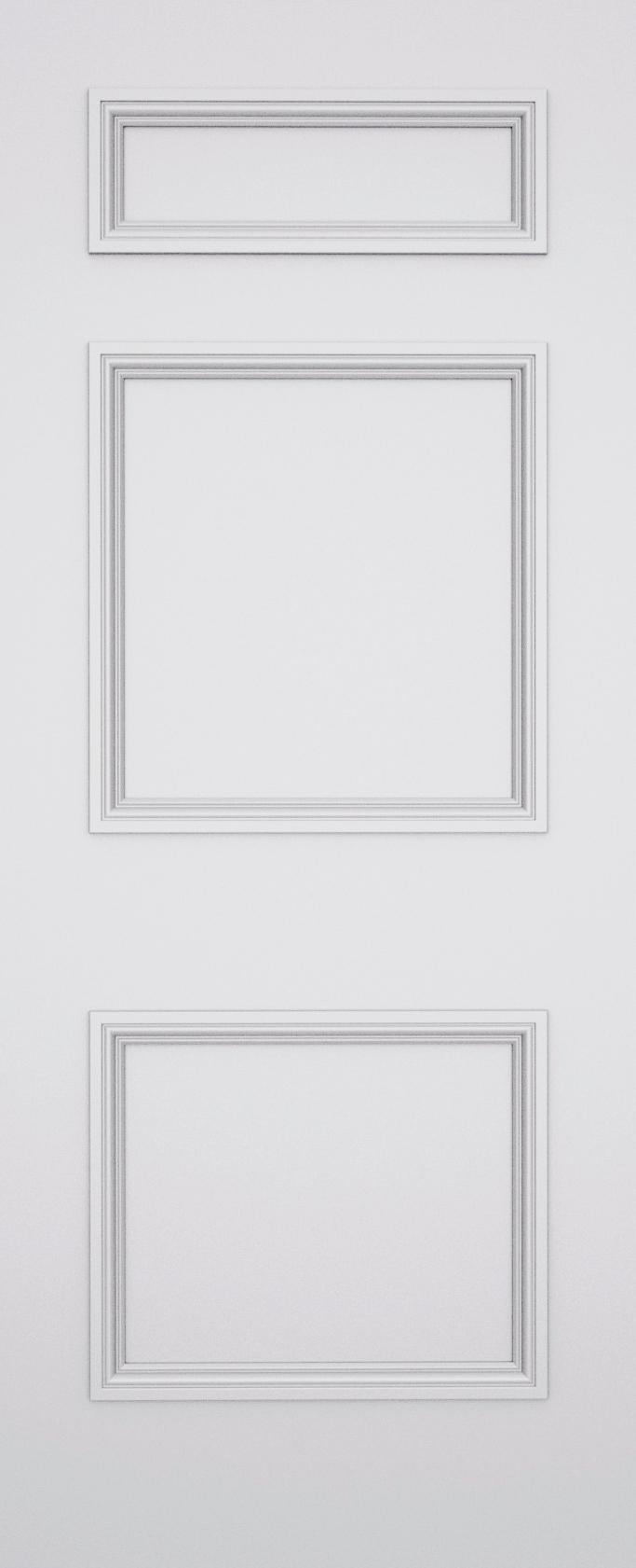 Ashbury Balmoral 3 Panel Fire Door