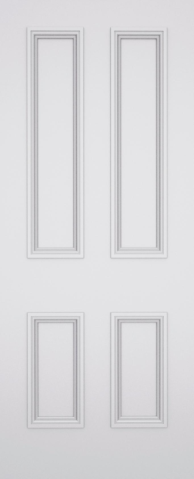 Classic Balmoral 4 Panel Door