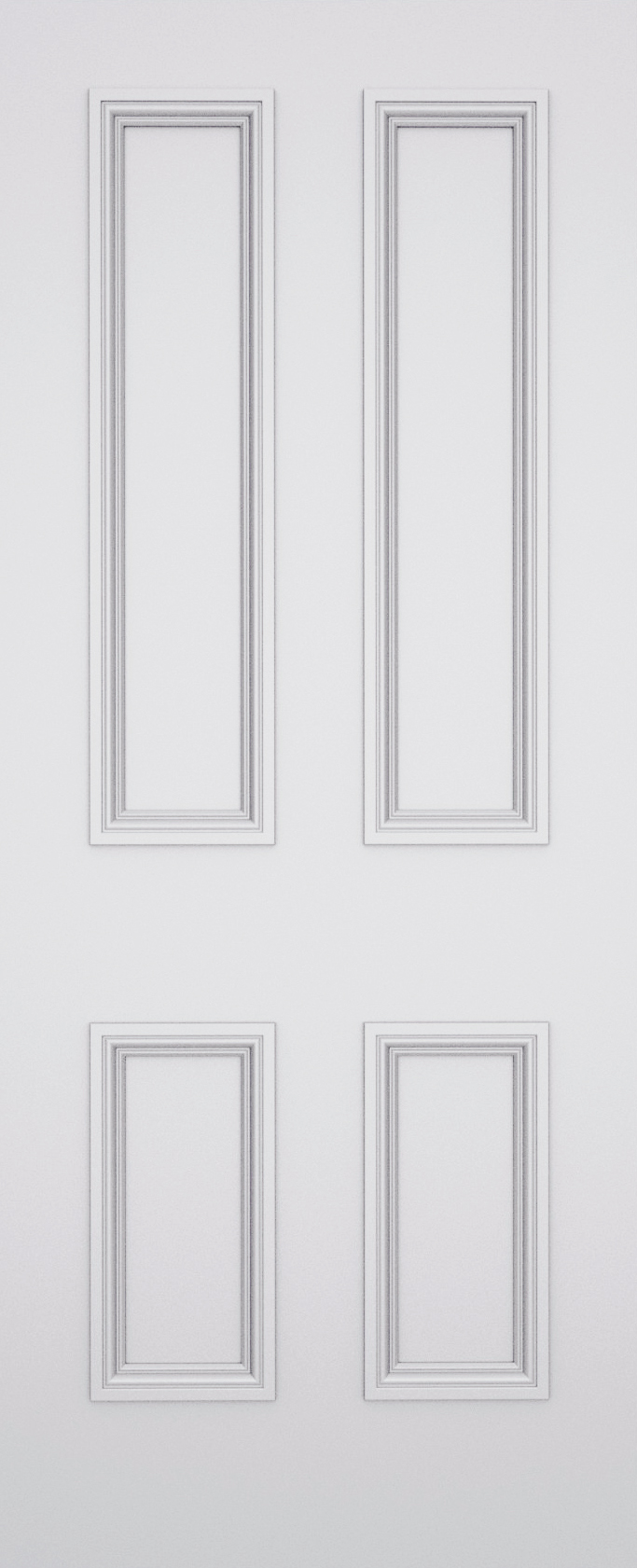 Quattro Balmoral 4 Panel Door