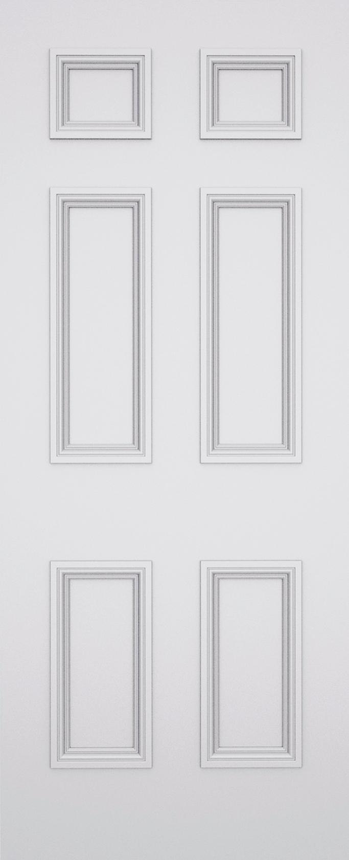Sestina Balmoral 6 Panel Fire Door