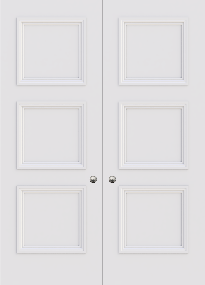 Balmoral 3 Panel Double Door