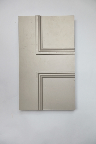 Front detail of The Classic Balmoral 4 Panel internal made to measure door primed and