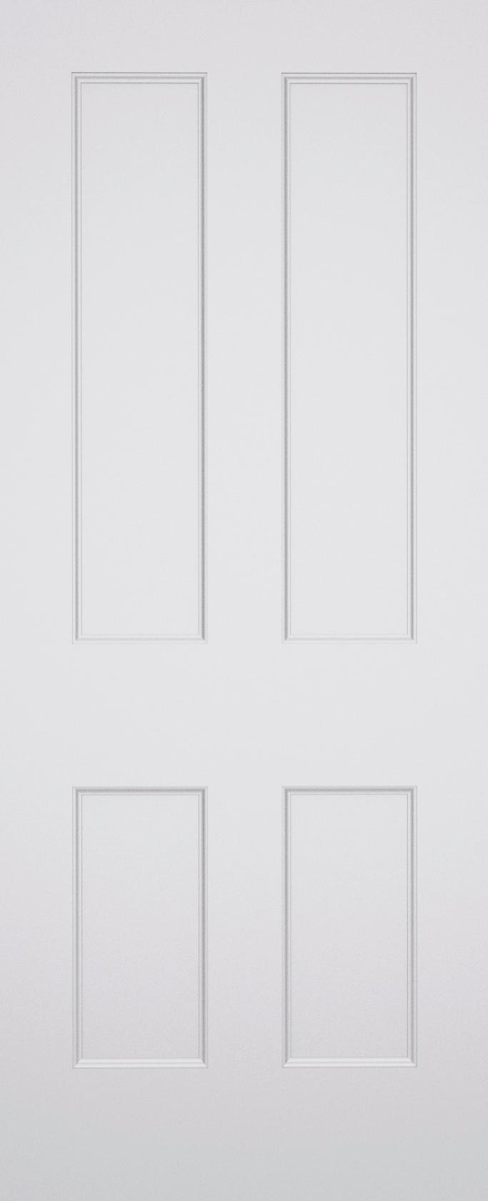 Classic Battersea 4 Panel Fire Door