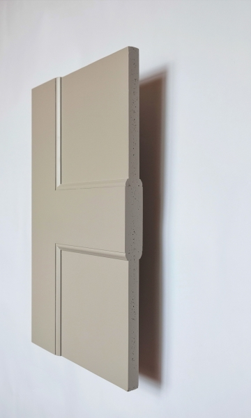 Battersea panel interior door from Trunk Doors, Bespoke glazed fire resistant custom