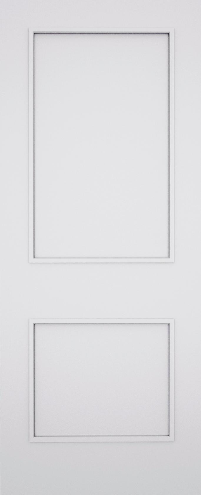 Classic Bexley 2 Panel Fire Door