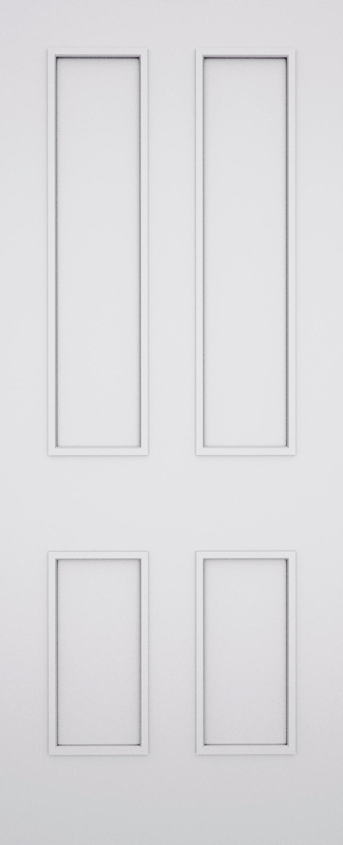 Classic Bexley 4 Panel Fire Door