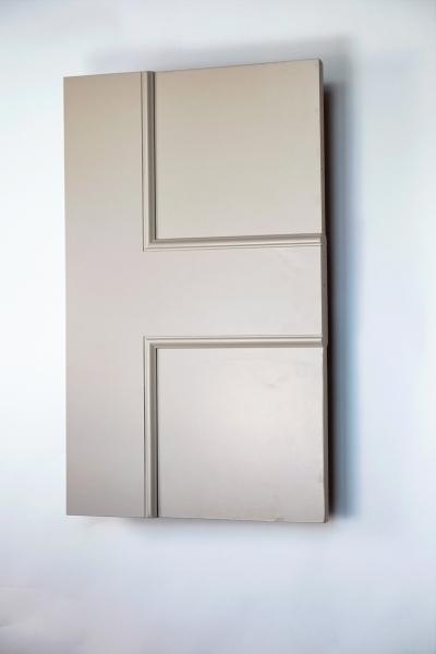 Bloomsbury panel interior door from Trunk Doors, Bespoke glazed fire resistant custo