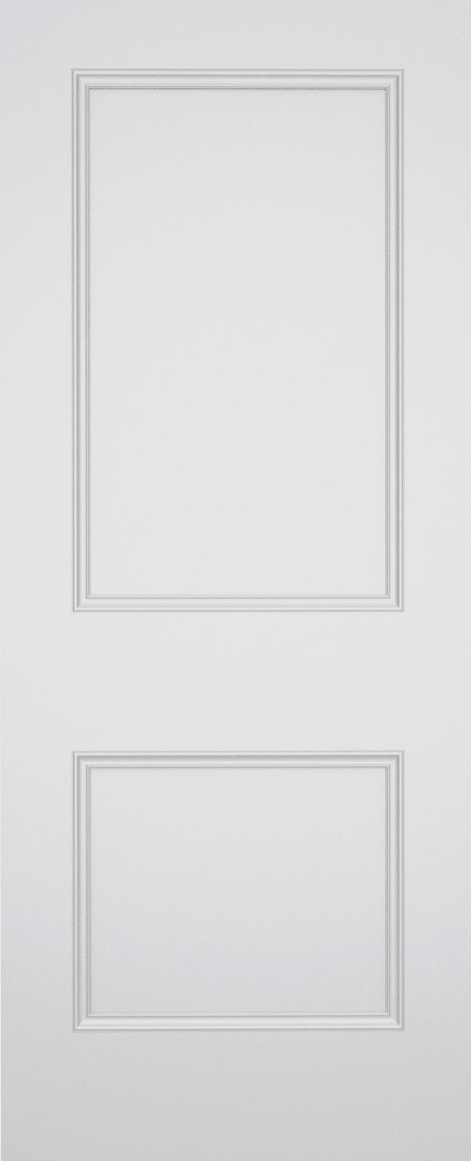 Classic Brompton 2 Panel Fire Door