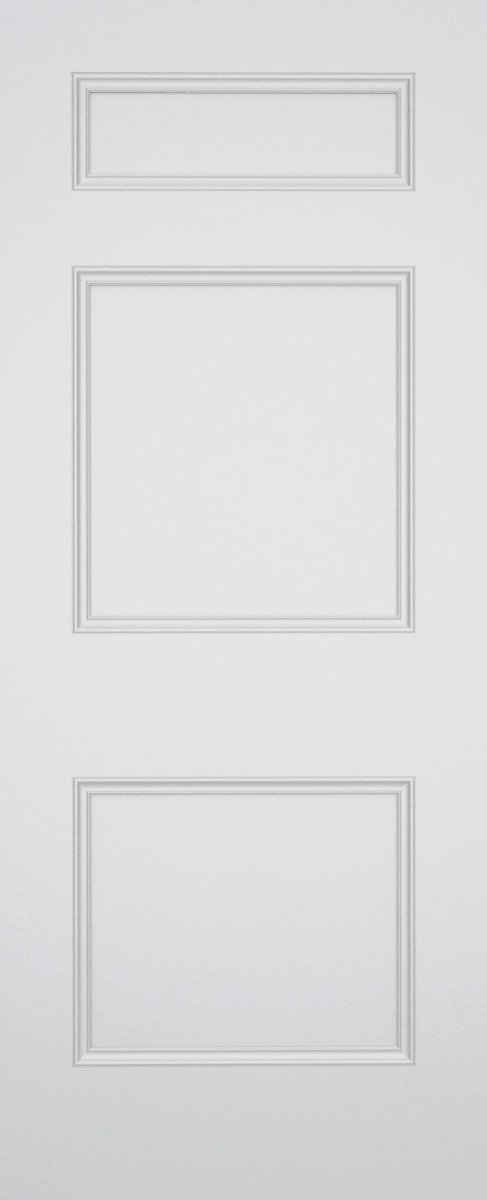 Ashbury Brompton 3 Panel Fire Door