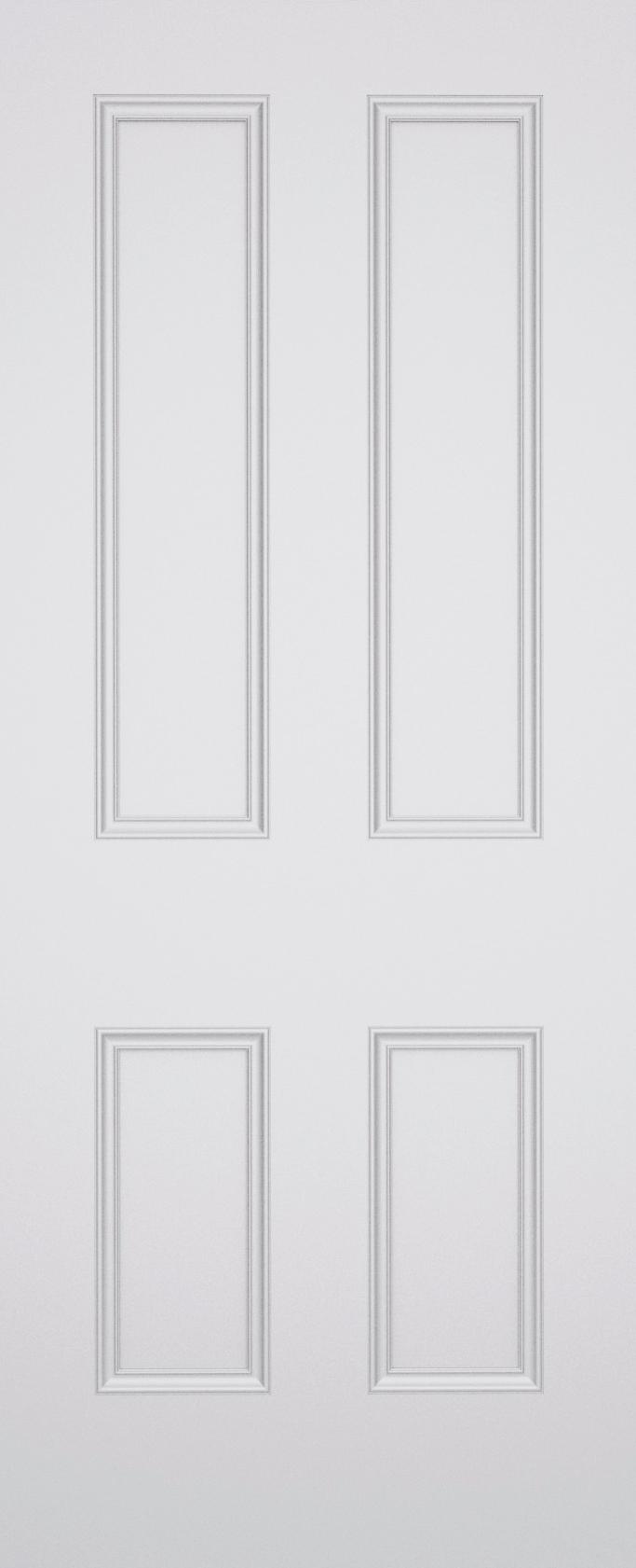 Classic Brompton 4 Panel Fire Door