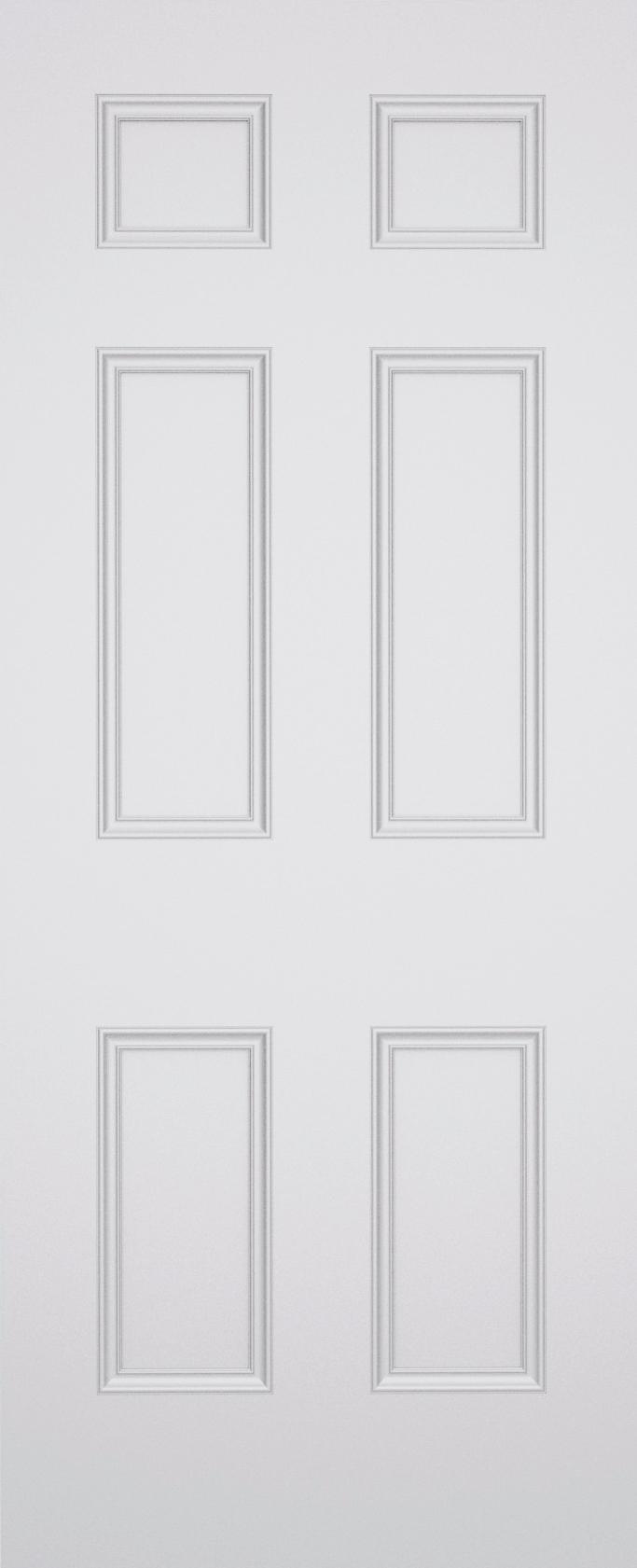 Sestina Brompton 6 Panel Fire Door