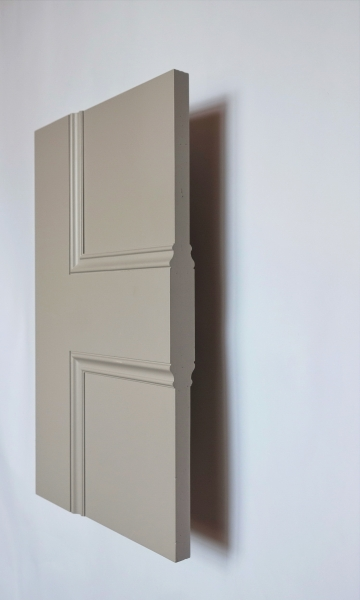 Brompton panel interior door from Trunk Doors, Bespoke glazed fire resistant custom