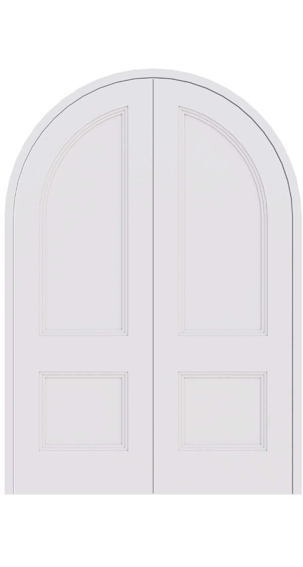 made to measure curved arch double doors curved double. Black Bedroom Furniture Sets. Home Design Ideas