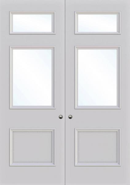 Croydon Double Glass Fire Door