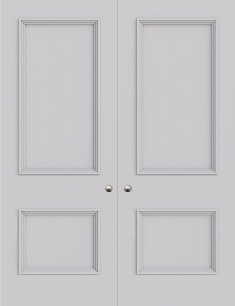 Newbury 2 Panel Double Fire Door