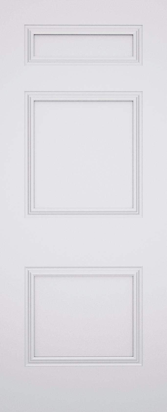 Ashbury Dublin 3 Panel Fire Door