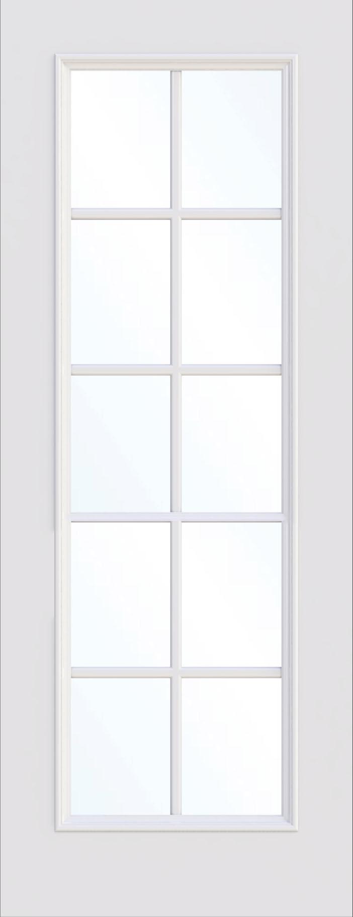 Glasgow Single Glass Fire Door