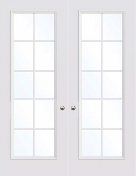 Glasgow Double Glass Fire Door