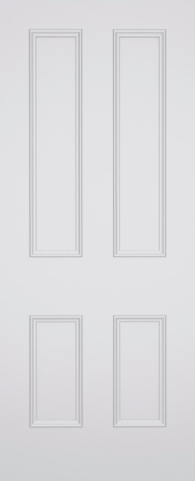 Classic Havering 4 Panel Fire Door