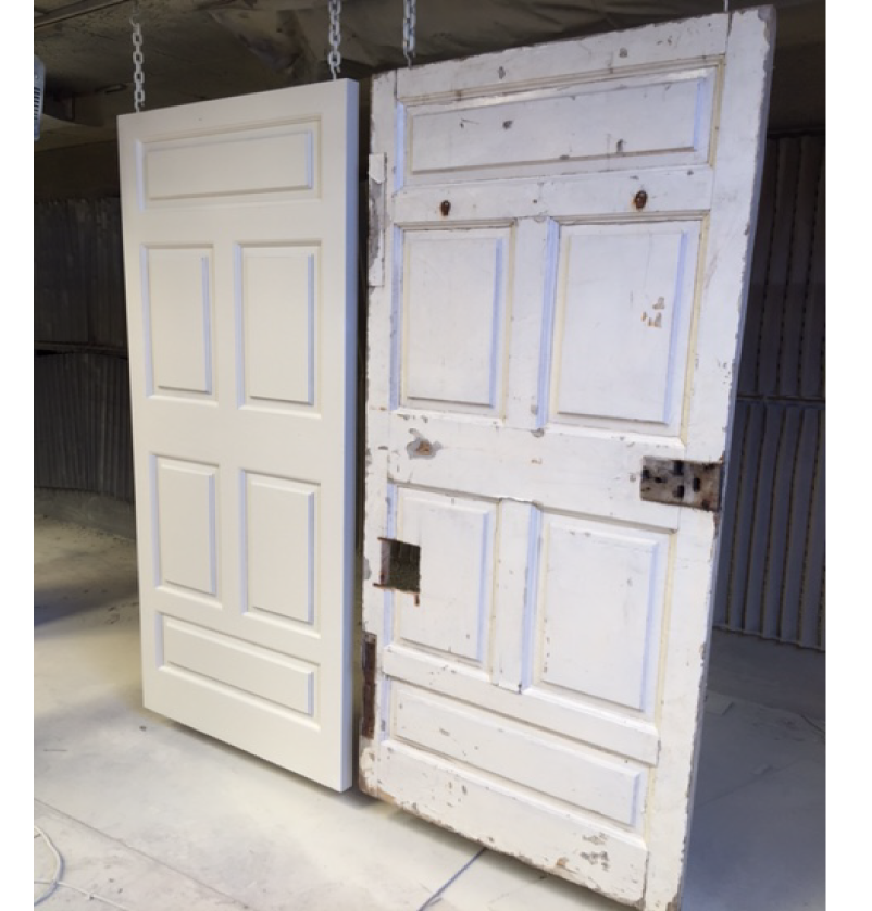 Front door replacement - Bespoke door