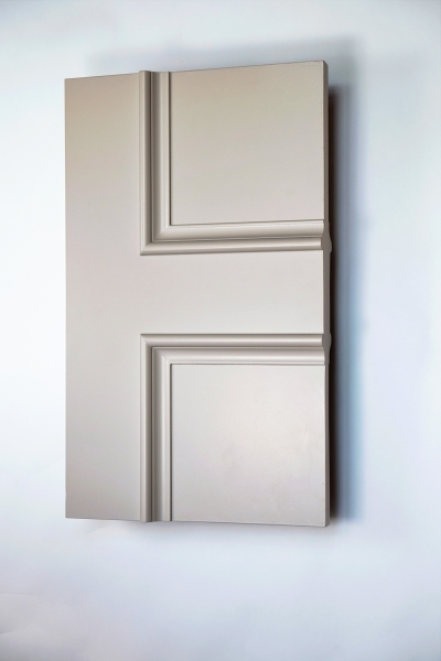 Islington panel interior door from Trunk Doors, Bespoke glazed fire resistant custom