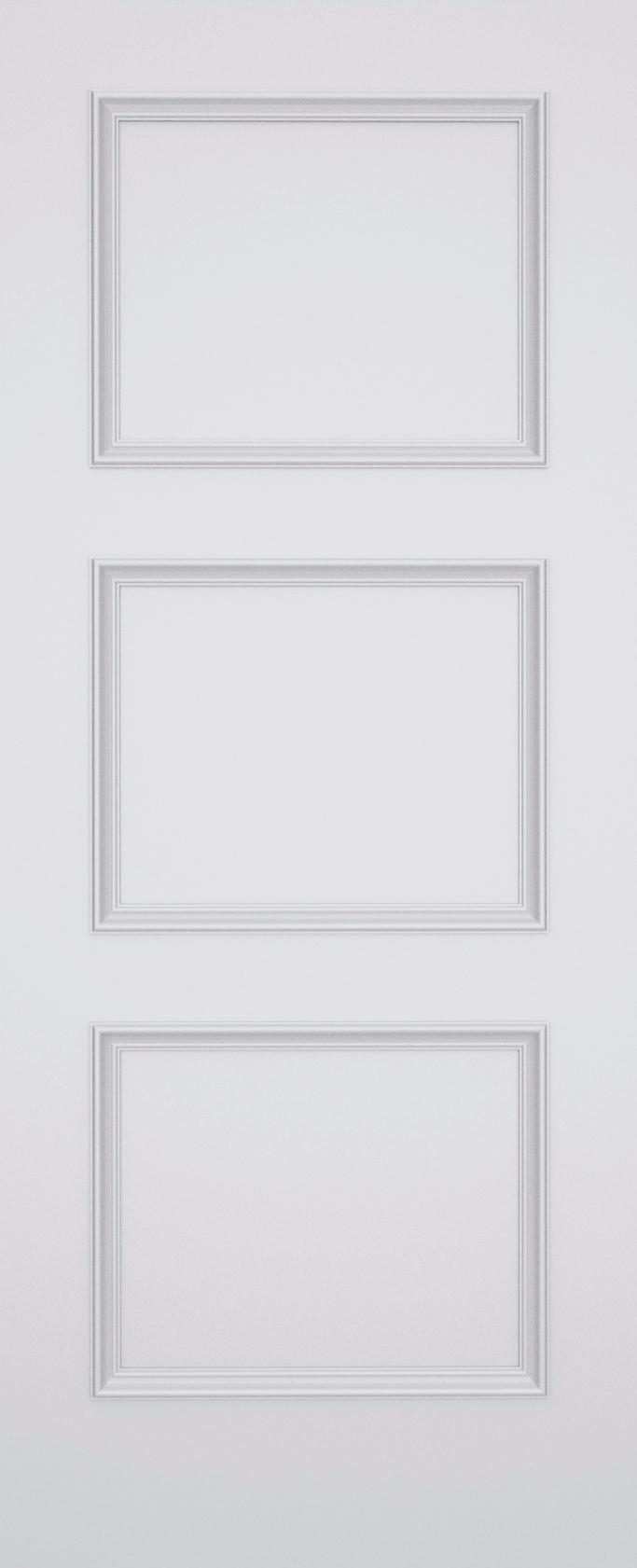 Trinity Kensington 3 Panel Door