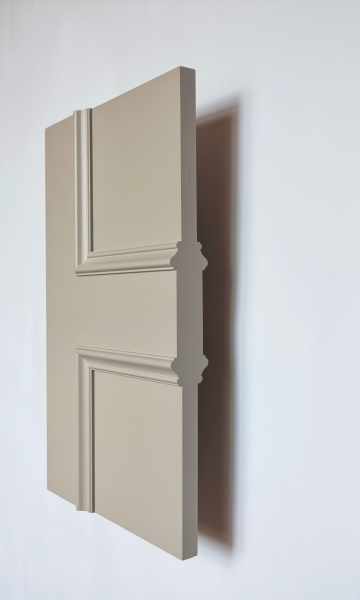 Side profile of the Classic Kensington internal made to measure door