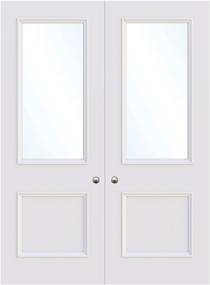 The Birmingham Double Glass Door