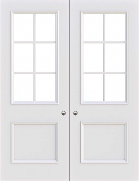 Manchester 2 panel interior door from Trunk Doors, Bespoke fire resistant custom door