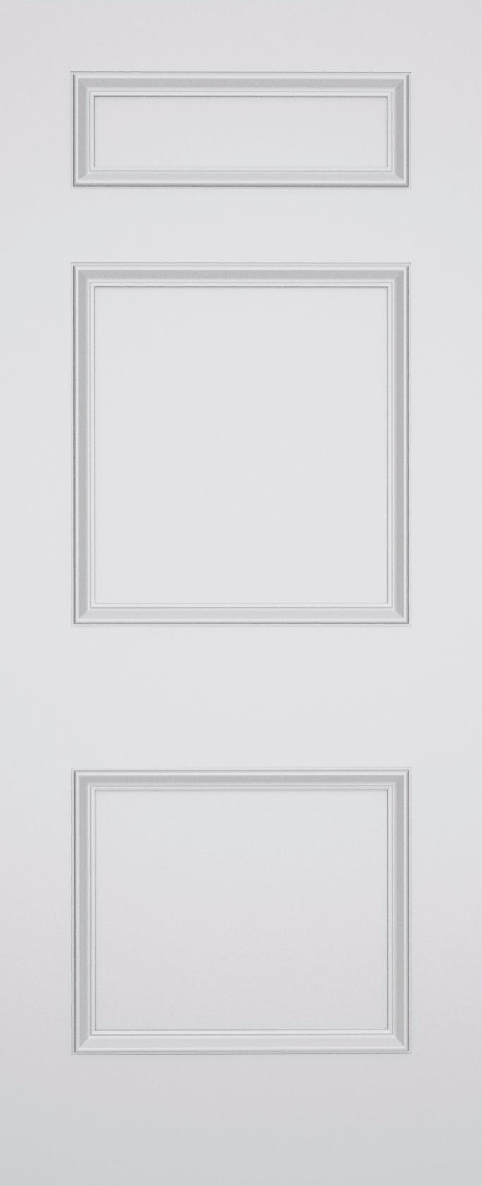 Ashbury Knightsbridge 3 Panel Fire Door