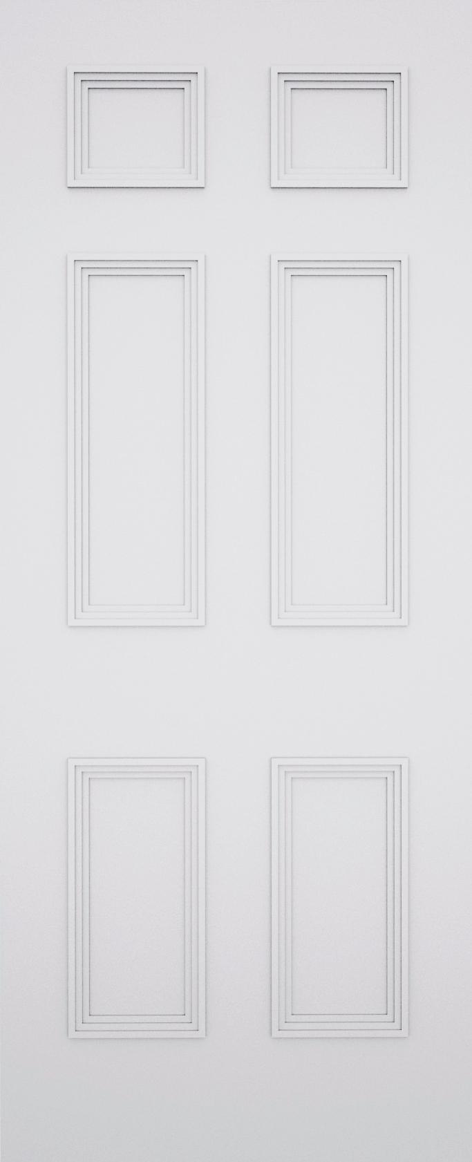 Sestina Newbury 6 Panel Door