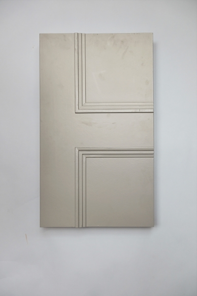 The front view of the Classic Newbury 4 panel internal made to measure door