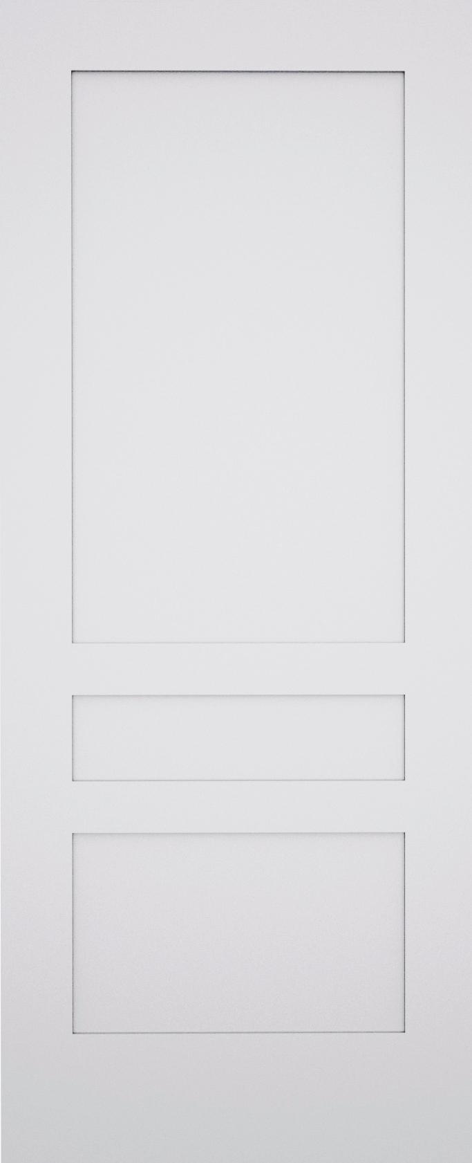 Kesh Shaker 3 Panel Door