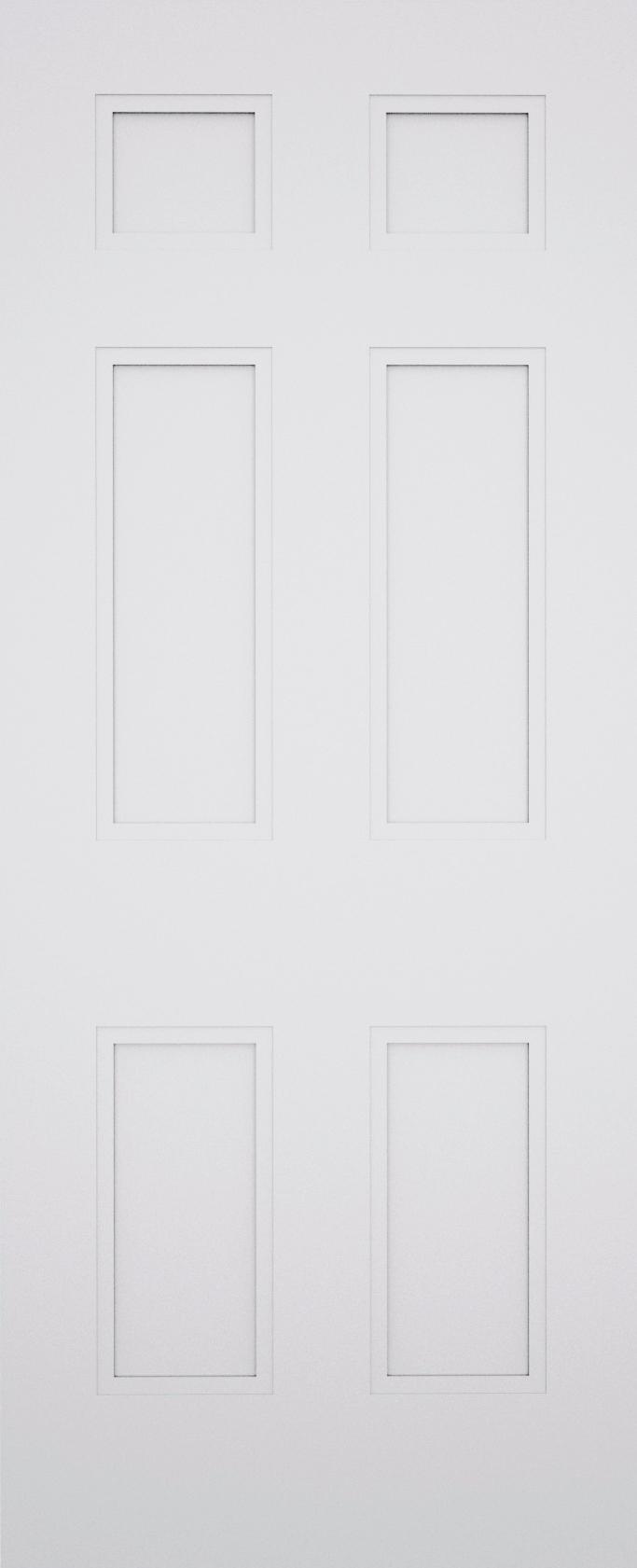 Sestina York 6 Panel Door