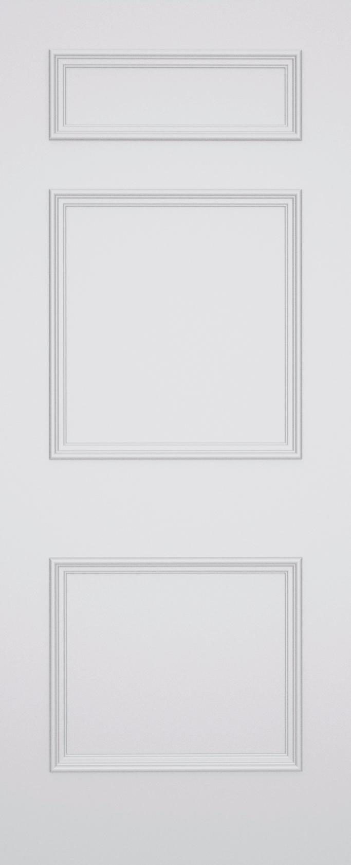 Ashbury Stratford 3 Panel Door
